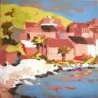 corse-pastel-a-huile-Albane Paillard Brunet - Artiste Peintre
