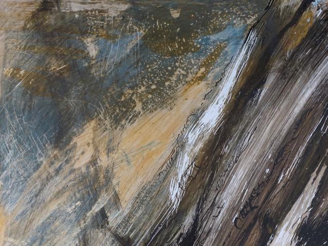 Dessin graphique réalisé sur papier par Albane Paillard-Brunet, artiste peintre plasticienne