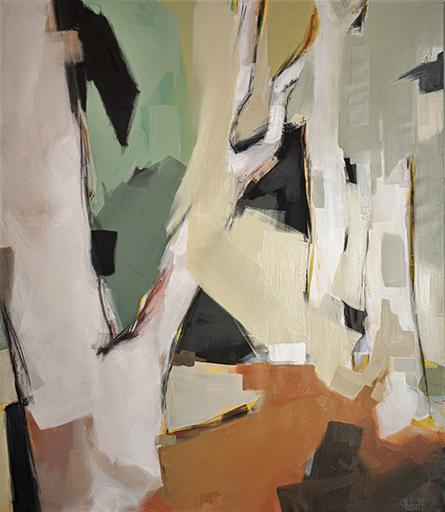 Foret silencieuse de chartreuse, vers Grenoble, par Albane Paillard-Brunet, artsite peintre plasticienne