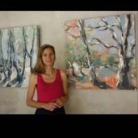 Albane Paillard-Brunet artiste peintre expose à la condamine à Corenc